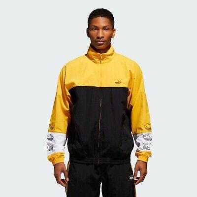Schwarze Herren Activewear (Adidas Original Tourney Aufwärmung Jacke Herren Schwarz Außen Active Wear DV3118)