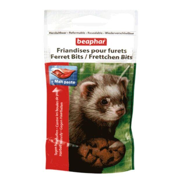Beaphar Ferret Small Animal Bits Hairball Malt Treats Snacks 35g