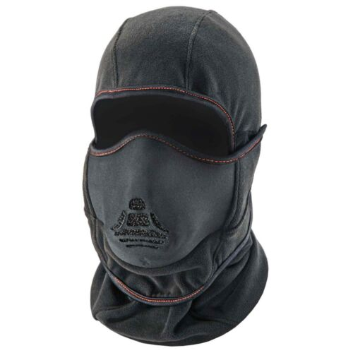 Ergodyne N-Ferno 6970 Thermal Balaclava with Heat Exchanger, Black