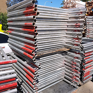 Formwork material for sale galvanised H frames Panania Bankstown Area Preview