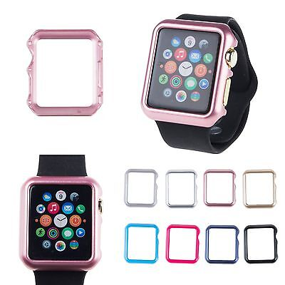 Hard Plastic Guard Bumper Protector Case Cover For Apple Watch Iwatch 38 42Mm