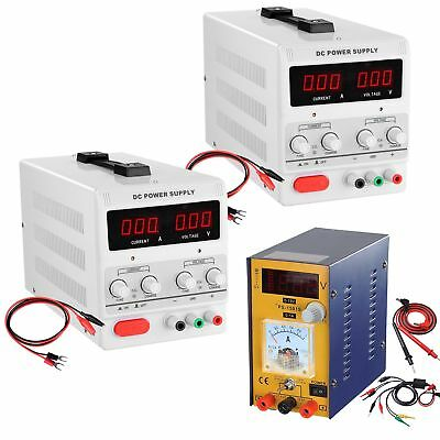 30v 5a10a Dc Power Supply Precision Variable Digital Adjustable Lab Grade 110v
