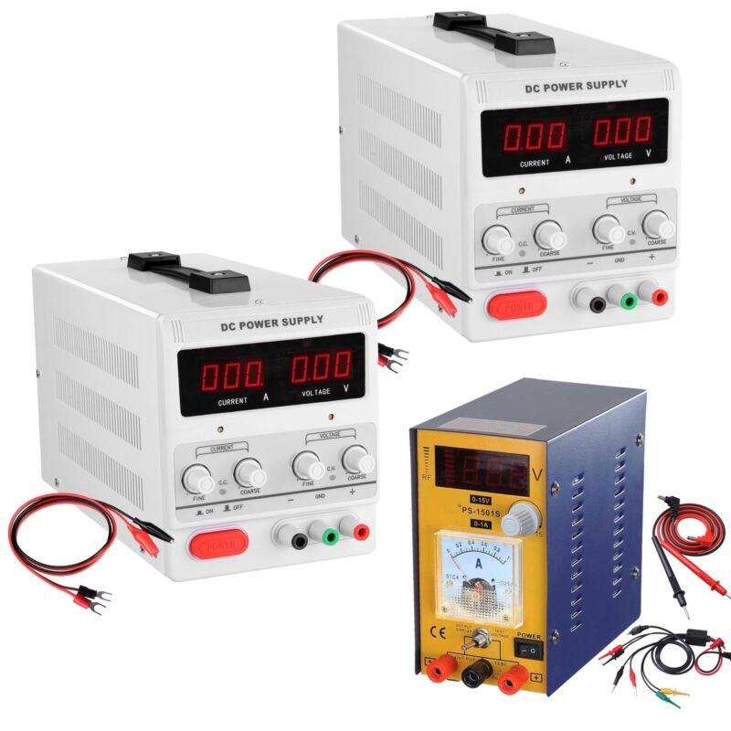30V 5A/10A DC Power Supply Precision Variable Digital Adjustable Lab Grade 110V
