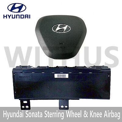 Steering Wheel & Knee Airbag Module Set for Hyundai Sonata Sports 18-20 OEM