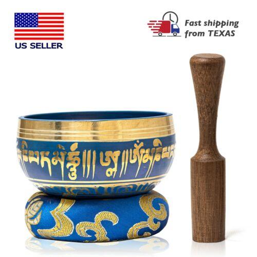 Priority 1-2 day Shipping Tibetan Singing Bowl Set for Yoga, Meditation !!
