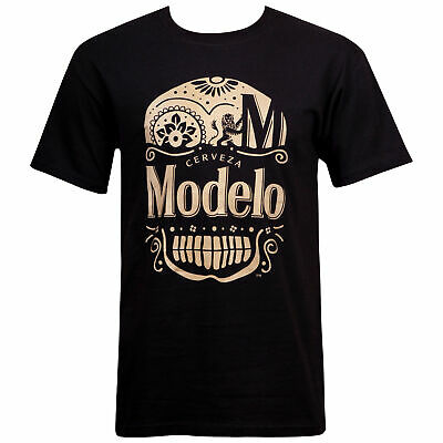 Modelo Especial Gold Ink Day Of The Dead Black T-Shirt (Modelo Gold)
