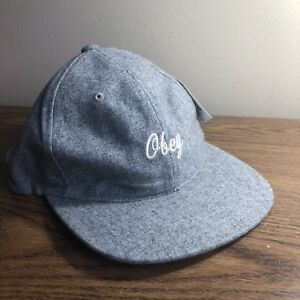 Obey Light Grey Hat