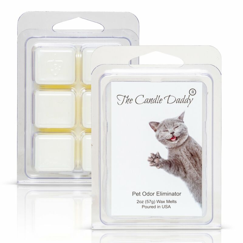 Silly Kitty Cat  - Pet Odor Eliminator Scented Melt- Maximum Scent Wax Cubes/Mel