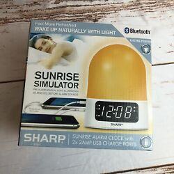 NEW Sharp Mood Light Sunrise Alarm Clock