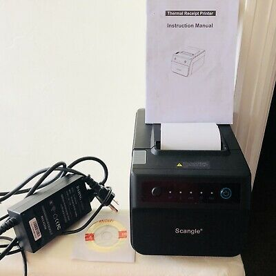 Scangle Sgt-88iv Desktop Usb Direct Thermal Pos Receipt Printer N040503