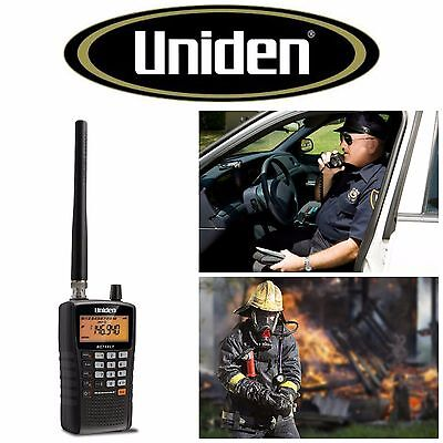 - Uniden Handheld Scanner Radio Analog Police Portable Emergency Fire Marine New