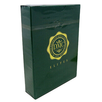 DMC Elites Green Marked Playing Cards Poker Size Deck USPCC Custom Limited