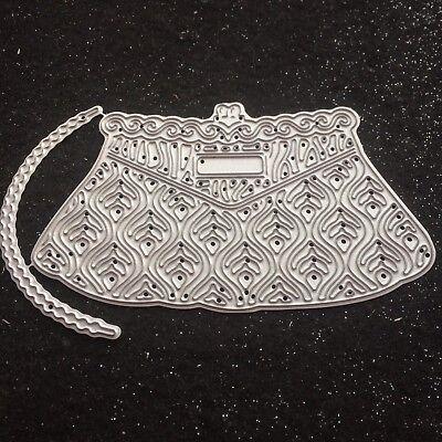 Tattered Lace Gorgeous Evening Handbag Craft Die