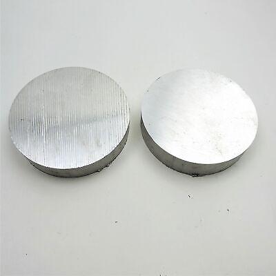 7 Diameter 6061 Aluminum Round Bar 0.875 Long Lathe Stock Pieces 2 Sku 199426
