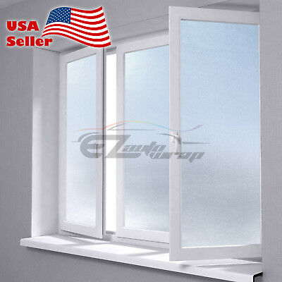 "4""x8"" Sample Frosted Film Glass Home Bathroom Window Security Privacy #01"