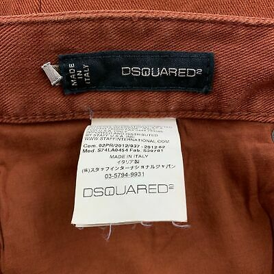 new Dsquared2 fashion Ripped jeans Jeans Slim Fit Men/'s QSD2 Washed Denim