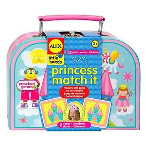 Alex LIttle Hands Princess Matching Game NEW Kids Toys Gifts Yarramalong Wyong Area Preview