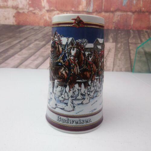 VTG 1989 Anheiser Busch Inc. Budweiser Clydesdale Beer Stein