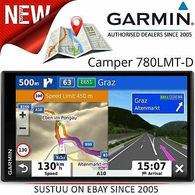 Garmin Camper 780LMT-D Motorhome Caravan GPS SatNav│Lifetime Map+Digital Traffic