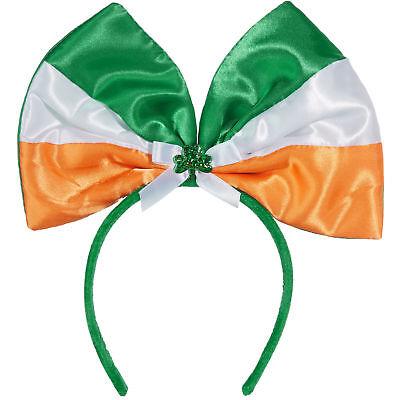 St. Patricks Day Haarreif Schleife Karneval Kostüm Accessoires Irland Party ()