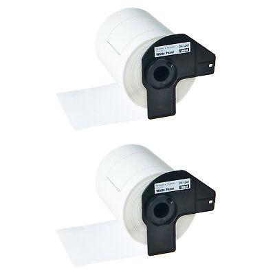 2 Rolls Dk-1241 Die Cut 4x6 Shipping Label Wframe For Brother Ql-1050n 1060n
