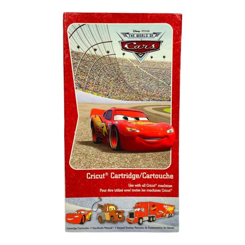 Disney Pixar CARS Cricut Cartridge -  DISNEYLAND - LIGHTNING MCQUEEN
