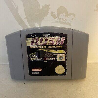 SAN FRANCISCO RUSH EXTREME RACING Nintendo 64 N64 Game PAL VERSION