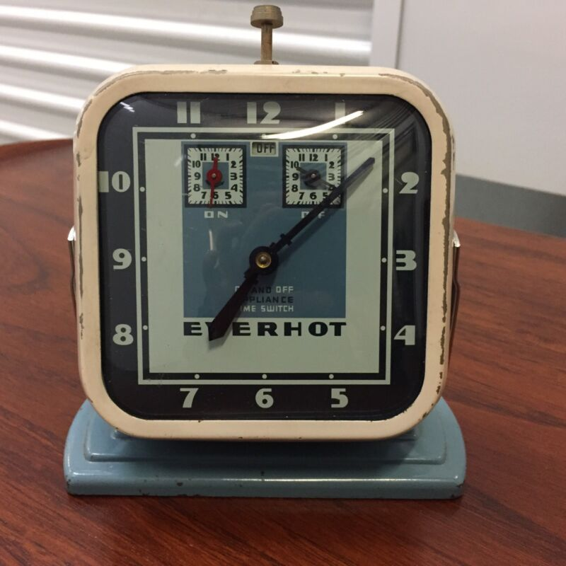 vintage mid century modern clock