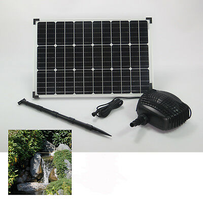 60 W Solar Stream Pump Pond Pump Solar Pump Submersible Pump Waterfall Pump