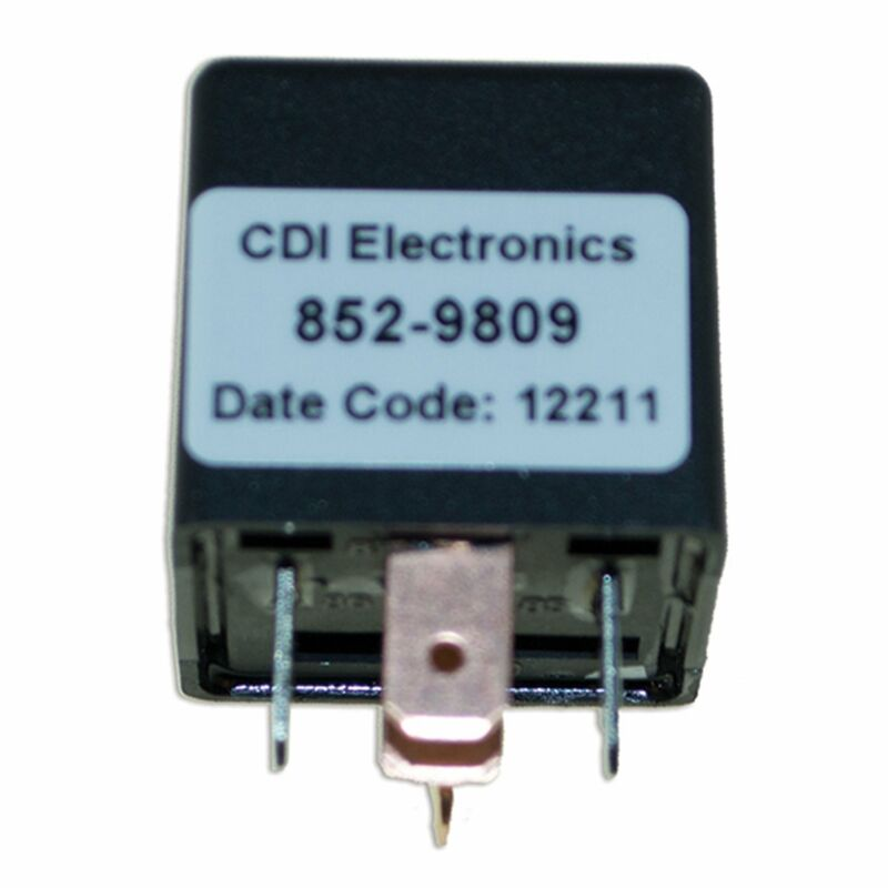 CDI Electronics 852-9809 Tilt/Trim Relay (Mercury/Mariner-12V, 40 Amp)
