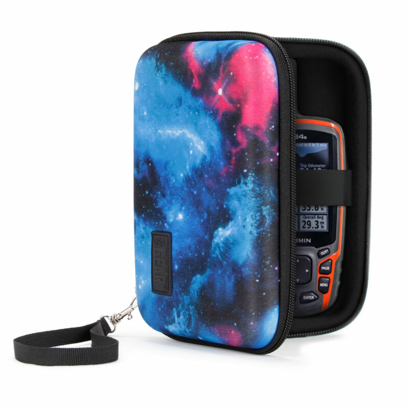 Protective Hard Shell Electronics Carrying Case with Accessory Pocket
