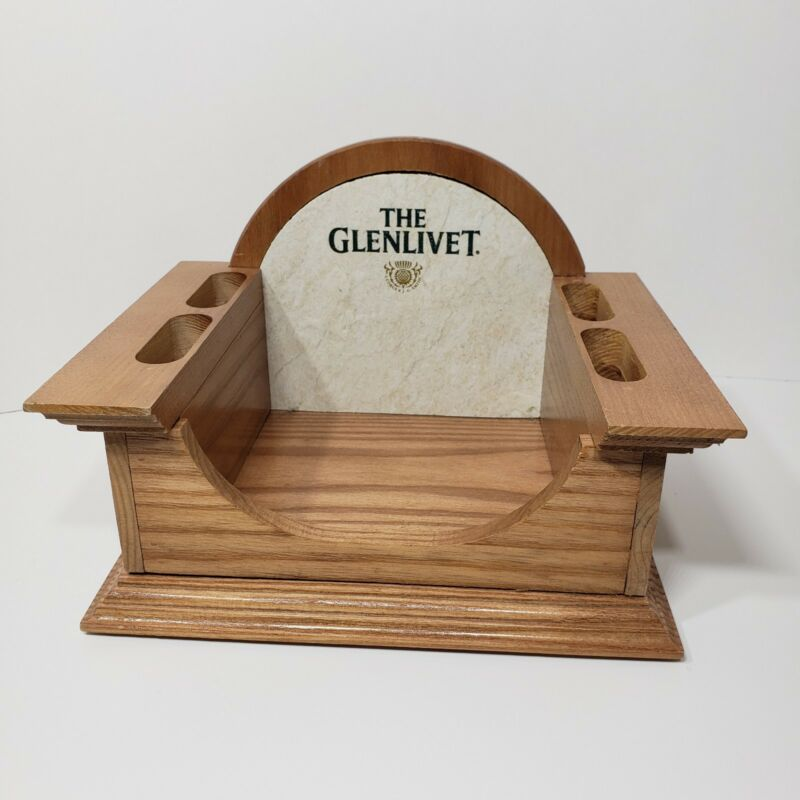 THE GLENLIVET -  Bar Bottle Display Caddy Wood