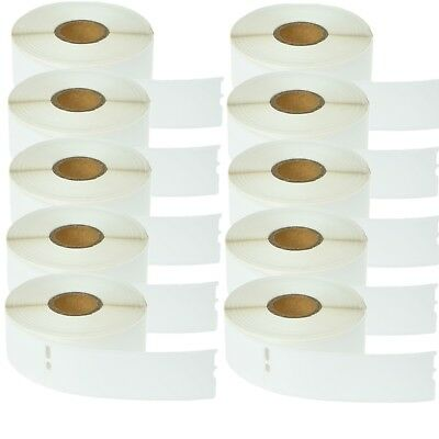 10 Roll 350 Address Labels For Dymo Labelwriters 30252 White 1-18 X 3-12