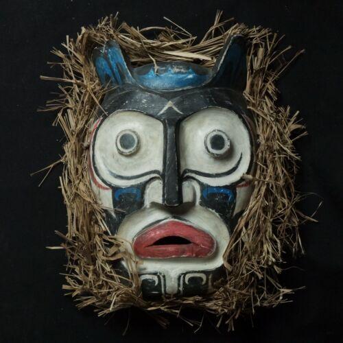 Large Vintage First Nation West Coast Mask - Haida, Kwakiutl, Salish, Tligngit