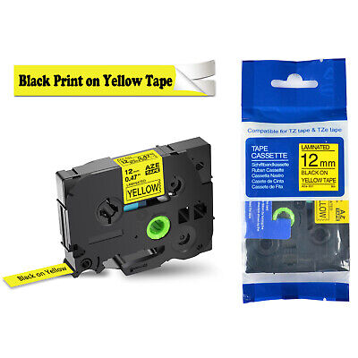 1pk Tz Tze 631 Black On Yellow Label Maker Tape For Brother P-touch Pt-d450 12