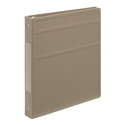 Carstens 1- Inch Heavy Duty 3-ring Binder Taupe Blemished Lot Of 20
