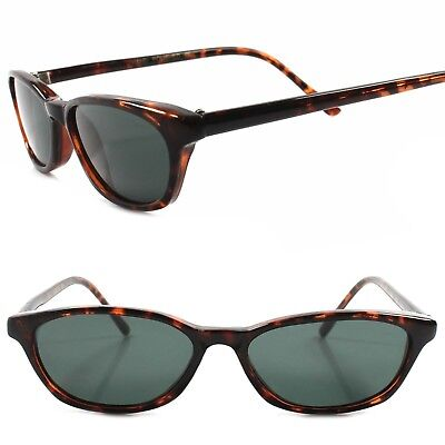Old Stock Classic True Vintage 80s Urban Fashion Tortoise Rectangle Sunglasses