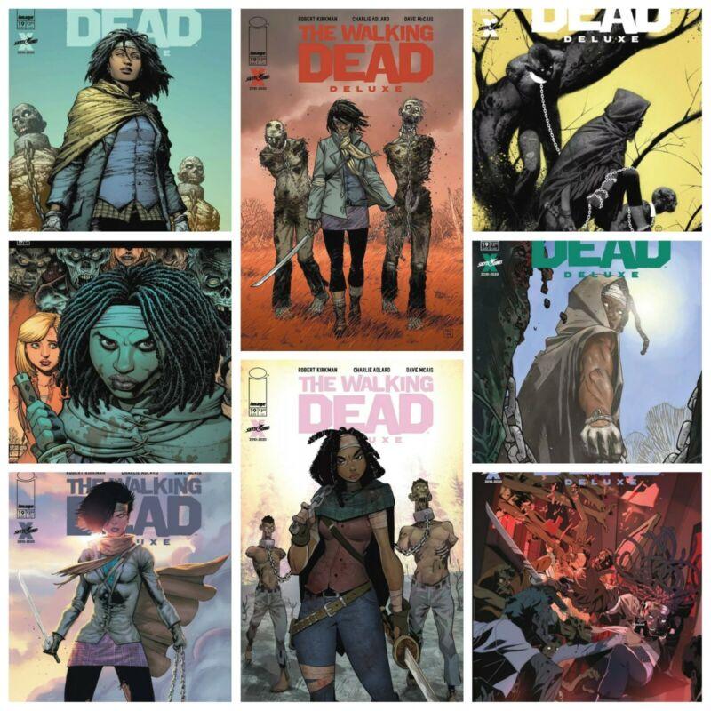 Walking Dead Deluxe #19 A B C D E F G H Variant Set Options 1st Michonne NM