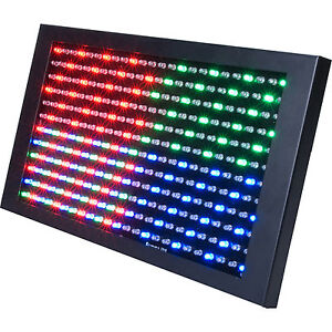 American DJ PROFILE PANEL RGB Color Mixing LED Panel for Wall or Stage Wash