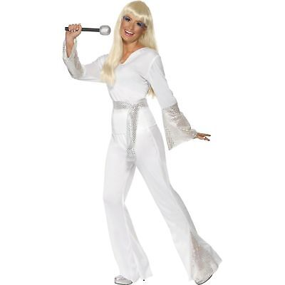 70s Disco Super Trooper Dancing Queen Womens Ladies Fancy Dress Costume](70s Disco Dances)