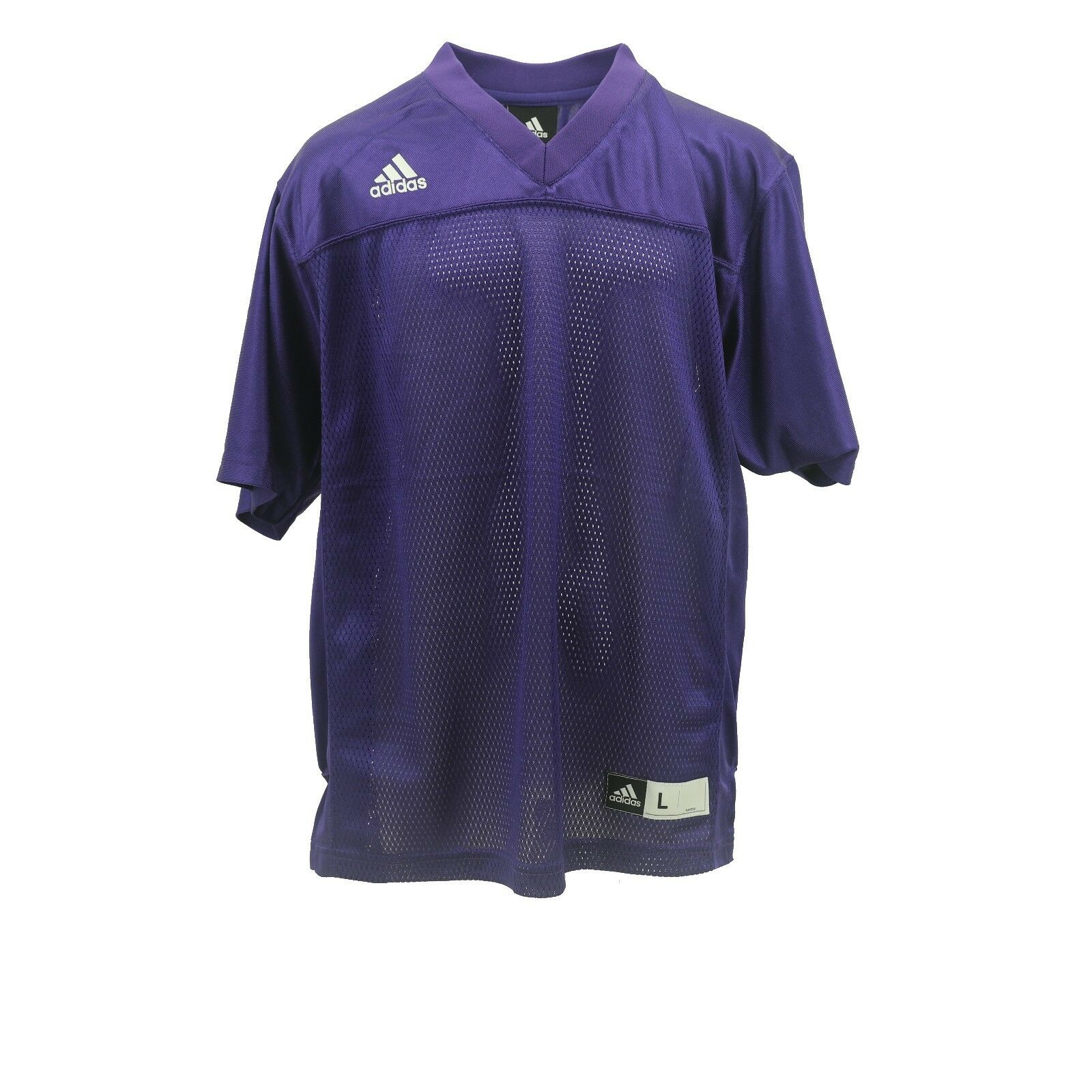 NCAA Official Adidas Kids Youth Size Football Blank Purple J