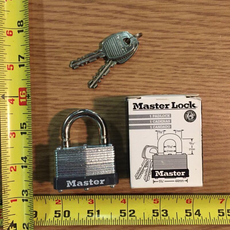 Master Lock Number 500KABRK 197 Commercial Padlock Keyed Alike Breakaway Shackle
