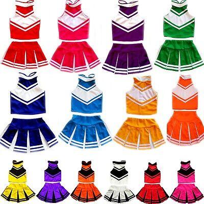 Mädchen Damen Cheerleader-Cheerleading Kostüm/Fasching/Cosplay Kleid Dress (Thailand Kostüme Kleider)