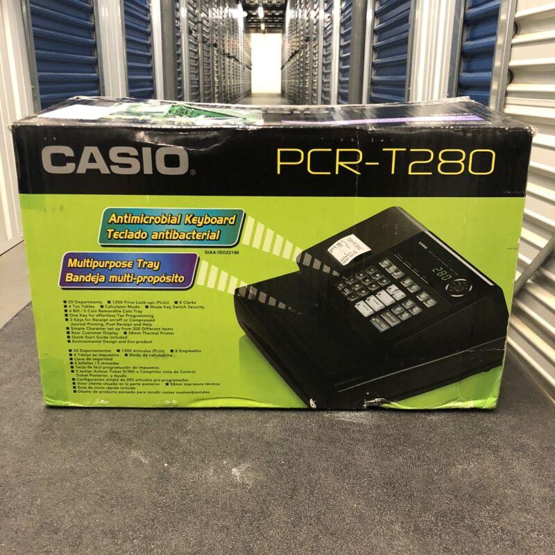 Casio PCR-T280 High Speed Thermal Printer Cash Register (Black) FREE SHIPPING