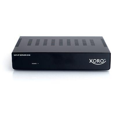 Xoro SAT>IP Server 8100, Streaming-Client, schwarz