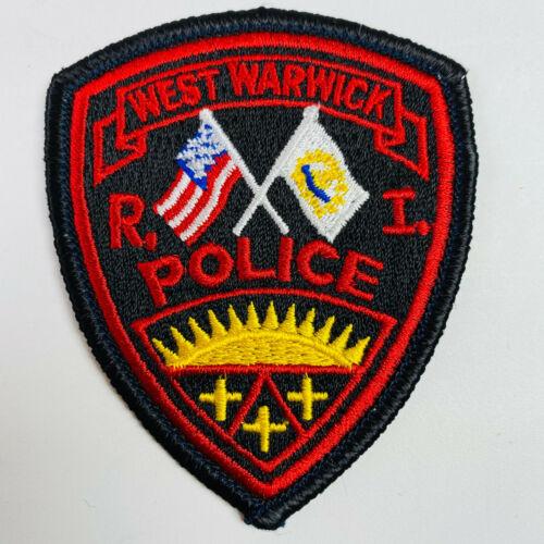 Hat Size West Warwick Police Rhode Island RI Patch (A3)