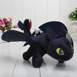 How To Train Your Dragon Figures Toothless Kids Stuffed Plush Soft Toy Doll