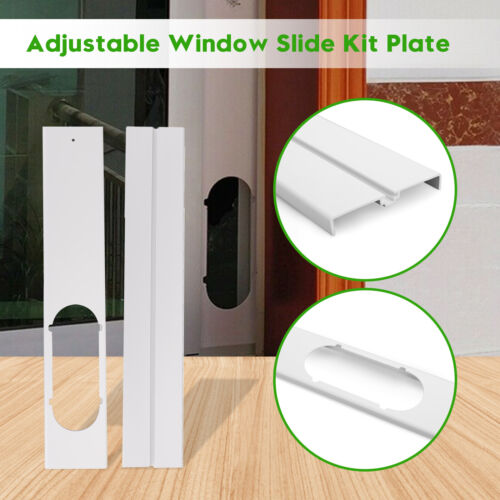 2x Adjustable Window Slide Kit Plate For Portable Air Condit