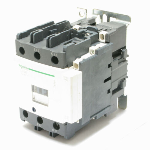 Schneider LC1D80 60HP, 80 Amp 3-Pole Contactor 120VAC Coil