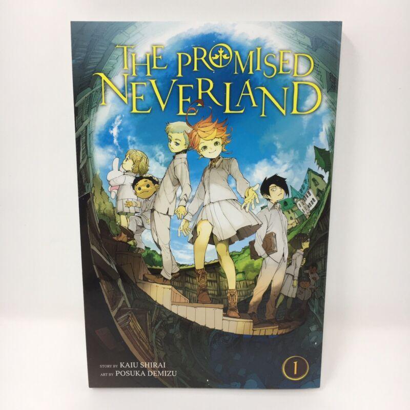 The Promised Neverland Vol. 1 English Manga By Kaiu Shirai Brand New